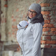 Angel Wings Softshell Coat, Light Grey